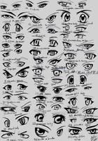39 male anime eyes by RUN-StreetArt