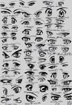 39 male anime eyes