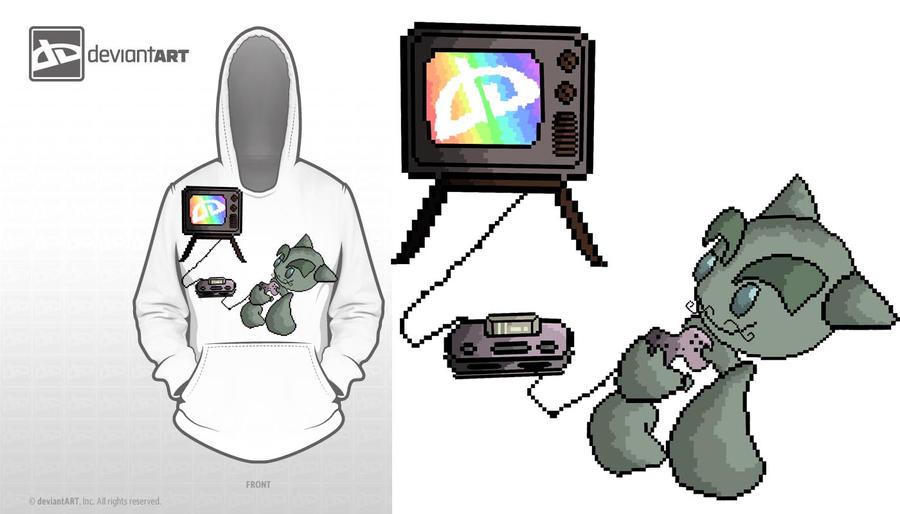 8bit-t-shirt-design-battle by eliantART