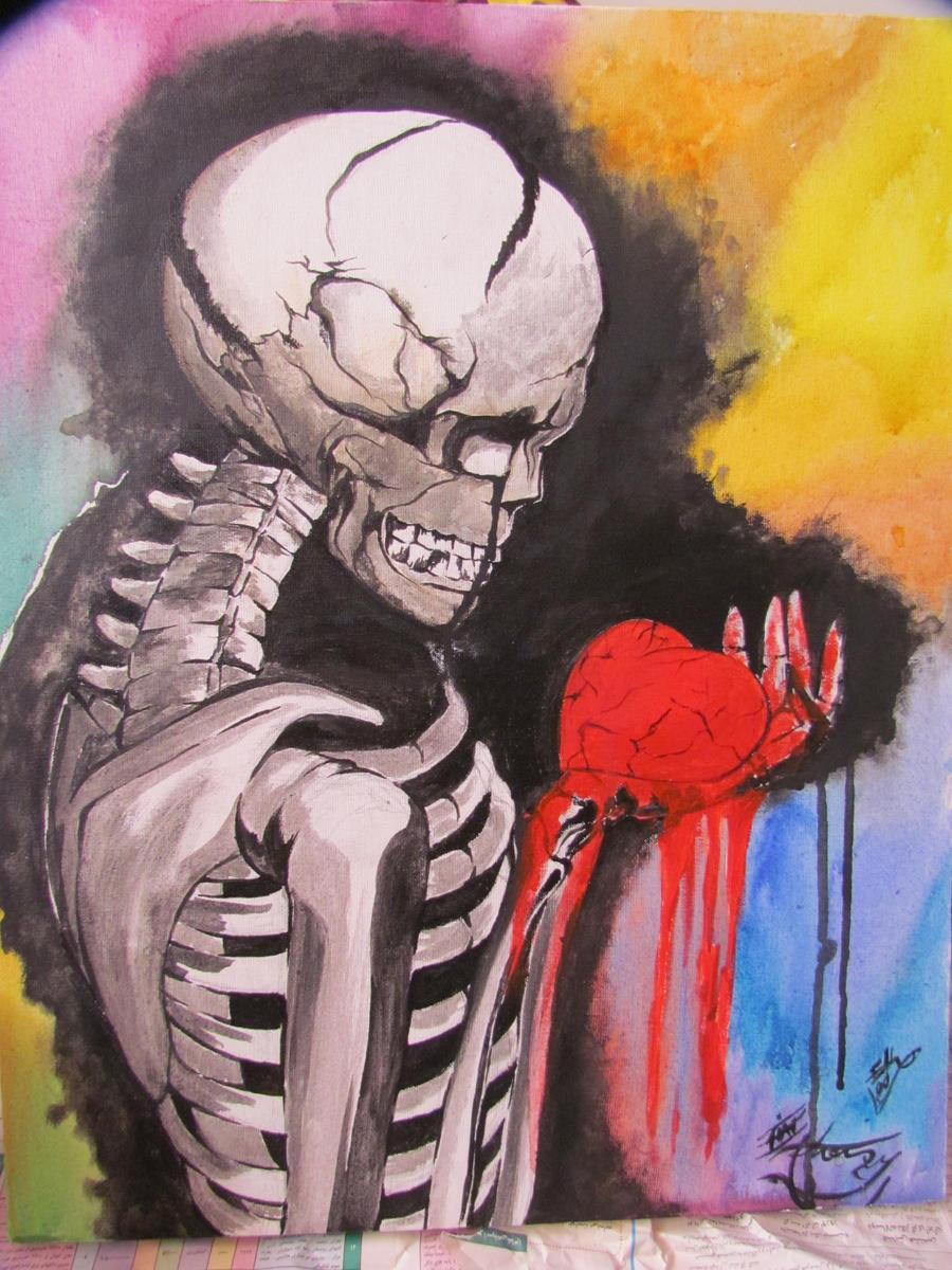 My bleeding heart by eliantART