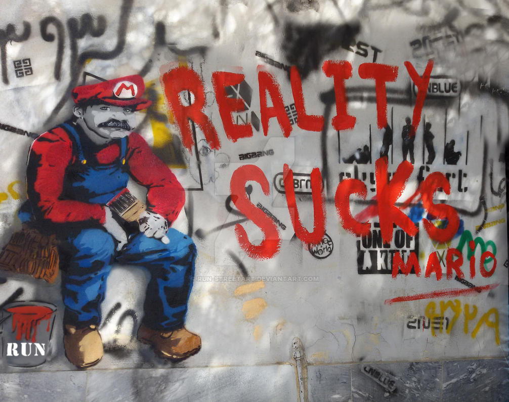 reallity sucks by eliantART