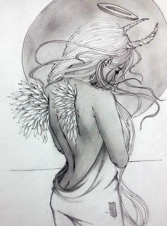 beyond darkness sketch by eliantART