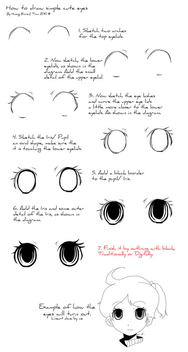 d61efbfe65e Simple Cute Eyes tutorial by CoralineCaroline on DeviantArt