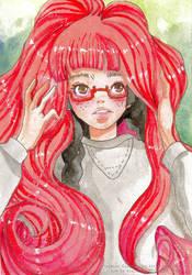 Tsukimi Kurashita by CoralineCaroline