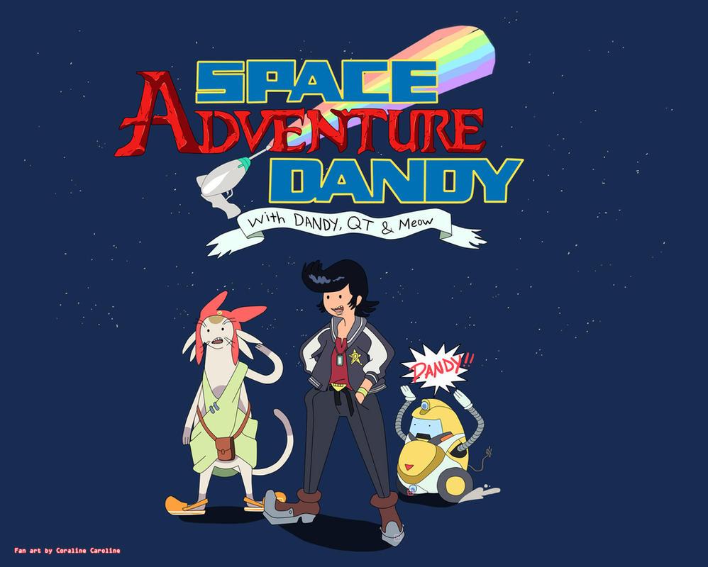 Space Adventure Dandy by CoralineCaroline
