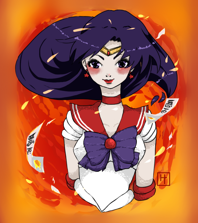 Sailor Mars: Rei Hino by CoralineCaroline