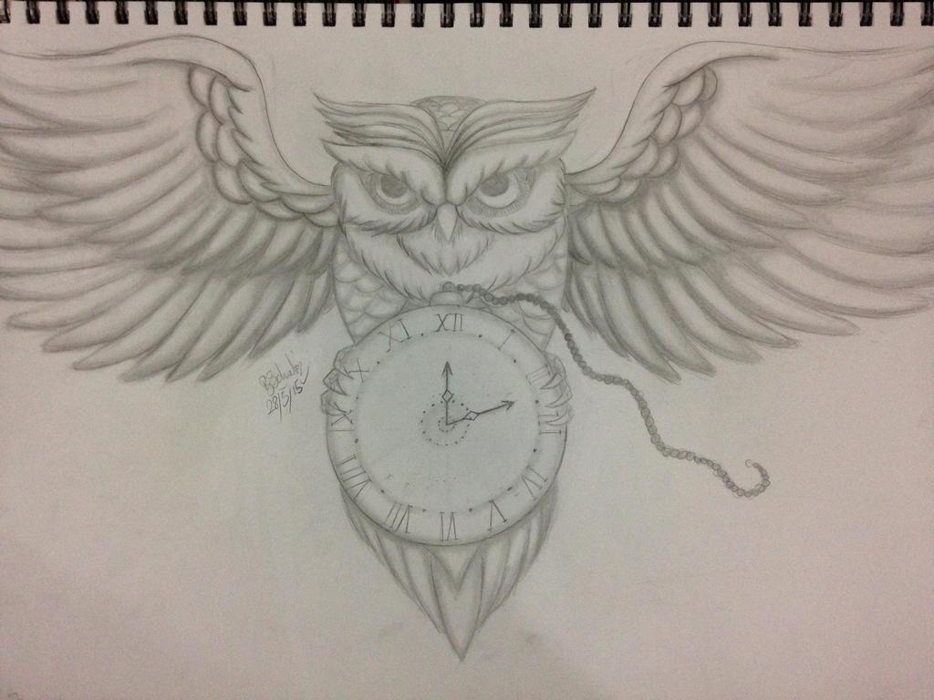 The Time Owl by DjFawkx