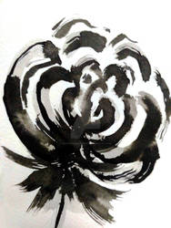 Ink Flower - 1