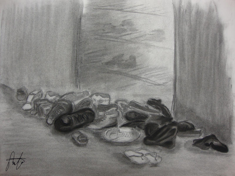 Art 231 - Pile of Shoes
