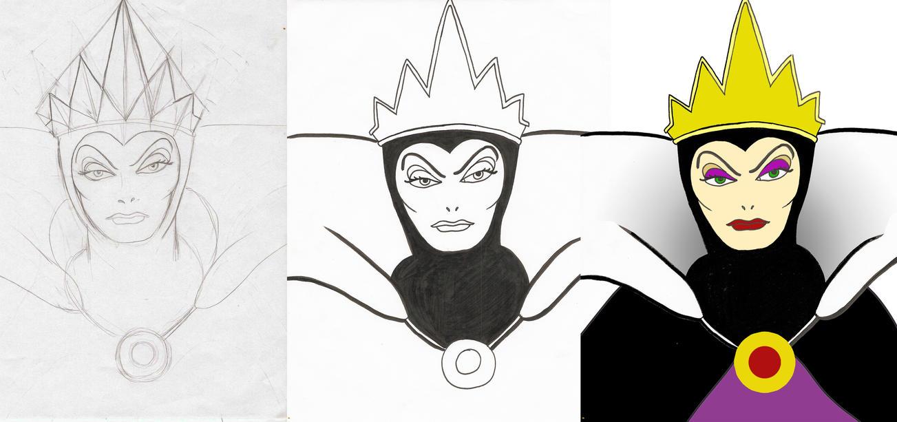 Wicked Queen From Snow White by disneyfreak19 on DeviantArt
