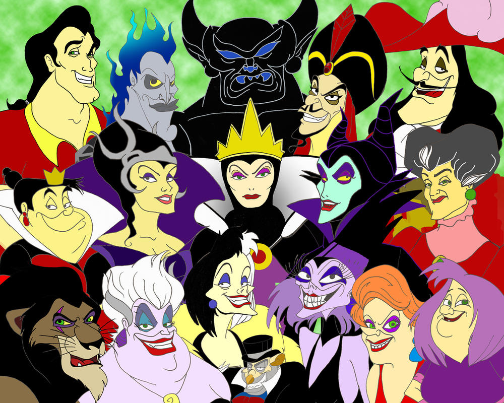 classic disney villains - photo #31