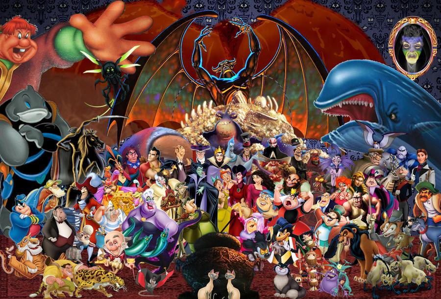 Disney Villains Wallpaper By Disneyfreak19 On Deviantart