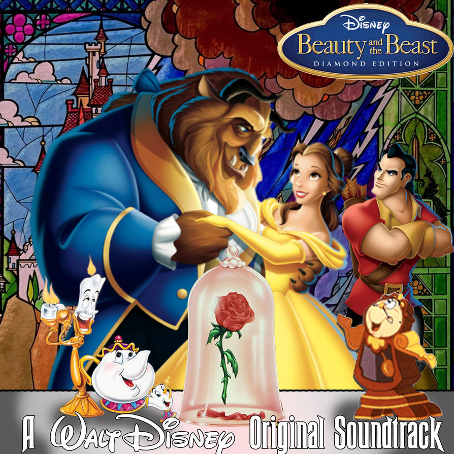 Beauty And The Beast CD Cover Version 1 By Disneyfreak19