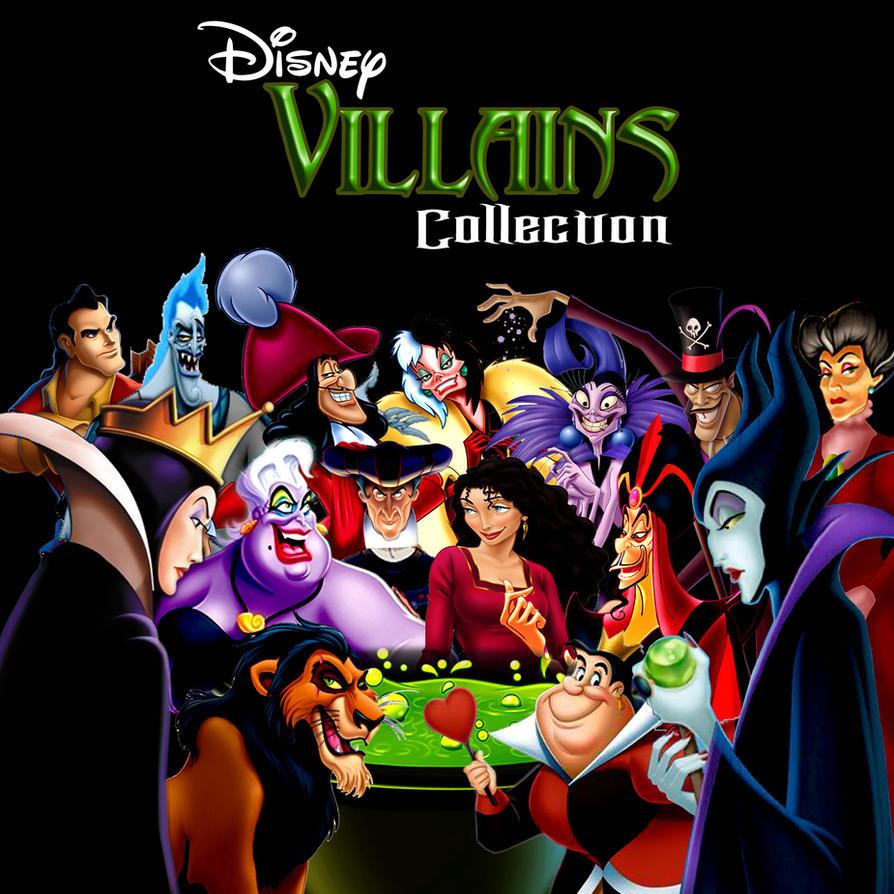 Disc By Supermaxer On Deviantart: Villain Cd By Disneyfreak19 On DeviantArt