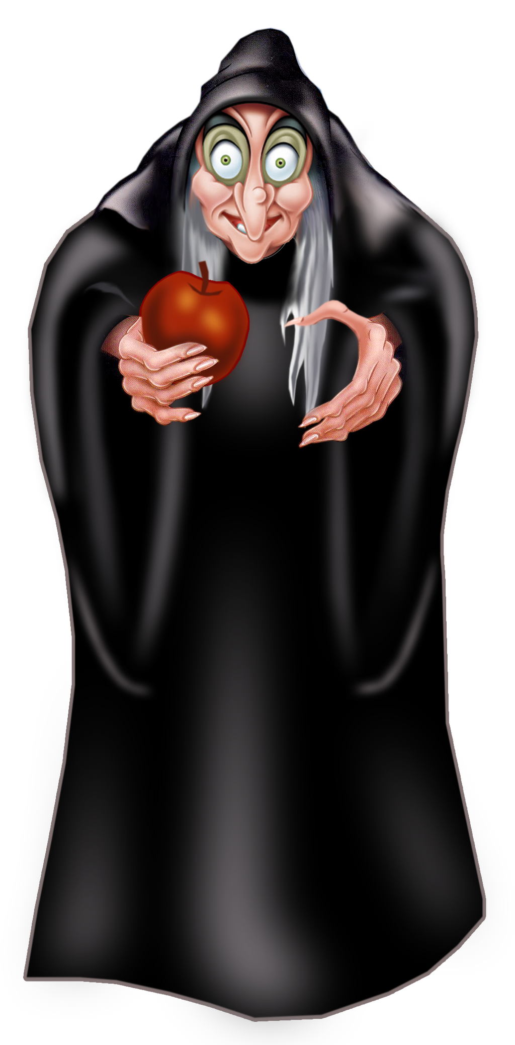 hag clipart by disneyfreak19 on deviantart apple core clipart black and white Apple Core Graphics