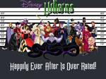 Disney Villains Police Line-up