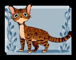 Doodle Cat #2- Bengal