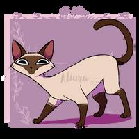 Doodle Cat #3- Siamese