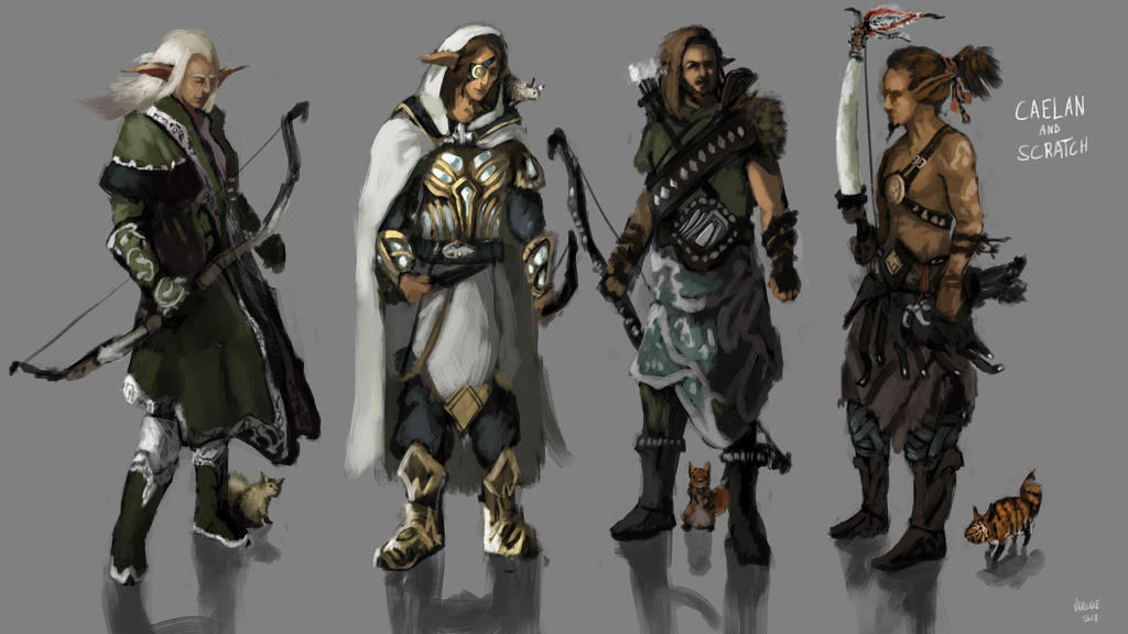 Caelan - concepts by DieNCry