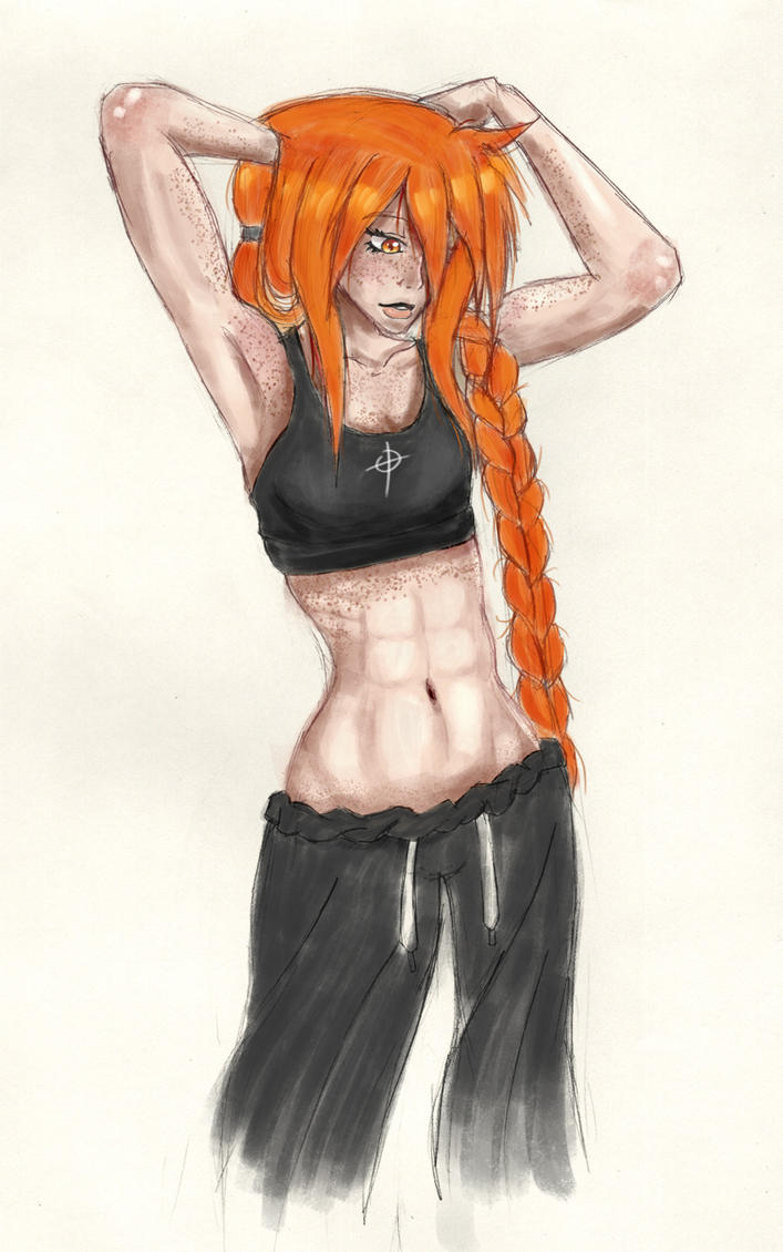 Day 39 - Post Workout by Chame