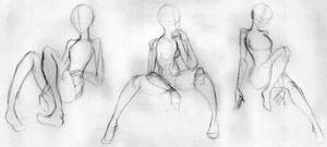 Day 281 - Sitting Gestures 1