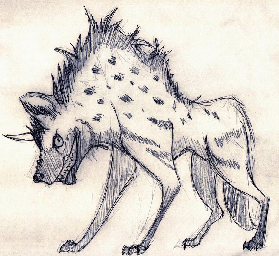 Day 287 - Hyena 2 by Chame