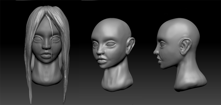 Daily Sculpting challenge - Day 1 by Chame