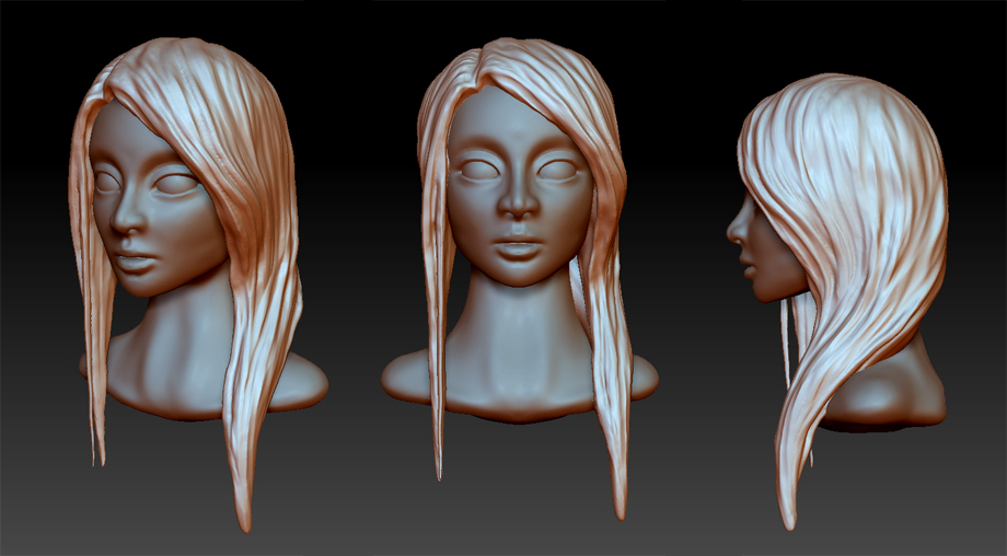 Daily Sculpting challenge - Day 2 by Chame