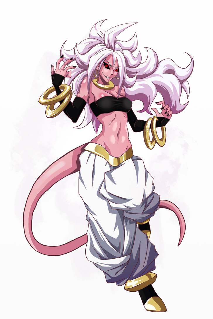 New Best Girl - ANDROID 21 by Chame