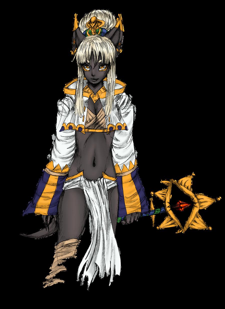 FA - Anubis Colored by ECILA-ALICE