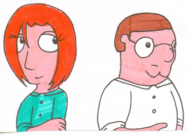 Lois Griffin Deviantart Peter and Lois Griffin by