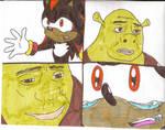Shadow begs Shrek