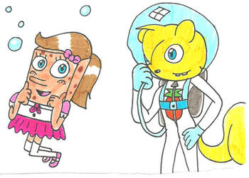 Billy and Silly Sponge by cmara