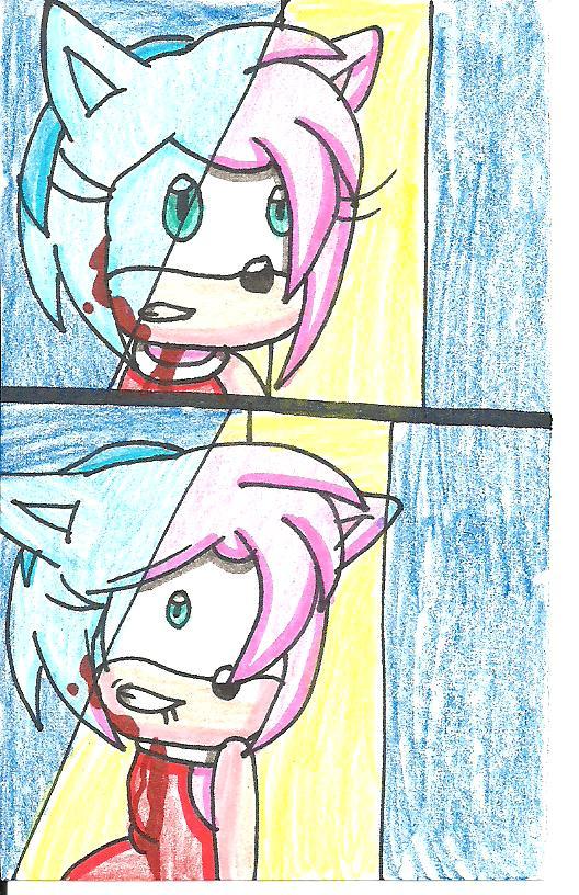 Amy Horrified by cmara
