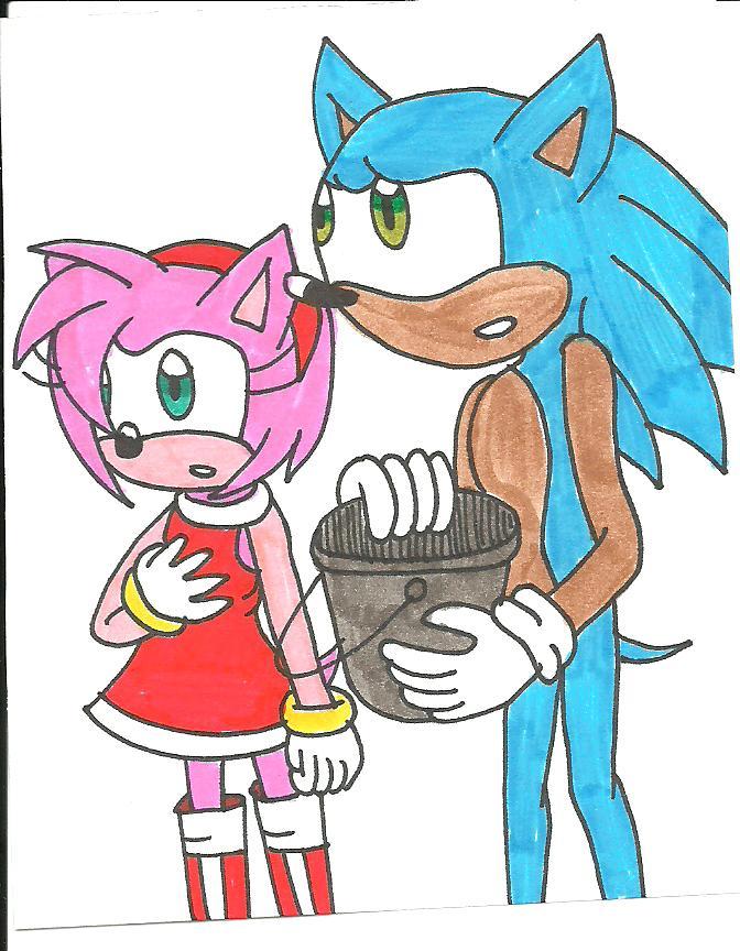 Sonic x amy rose by cmara on deviantart - Amy rose sonic x ...