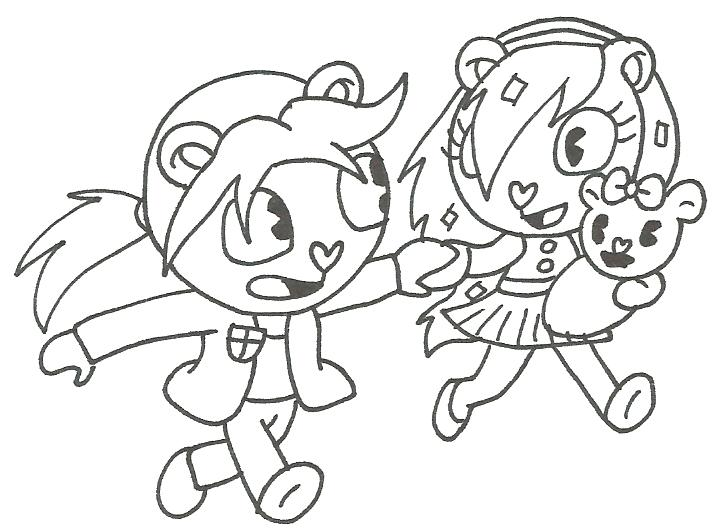 happy tree friends coloring pages - photo#29