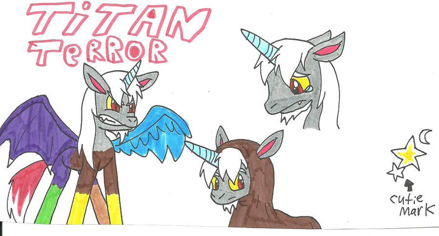 MLPNG: Titan Terror AKA T.T. by cmara