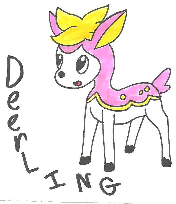 Pokemon: Deerling by cmara on DeviantArt