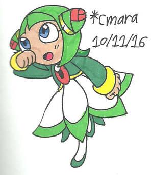 Cosmo's running by cmara