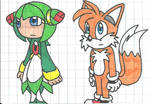 Tails and Cosmo watch