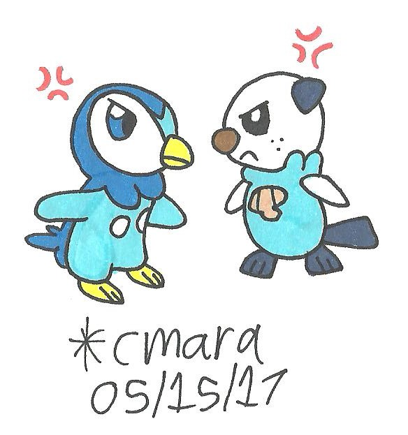 Meloetta And Piplup