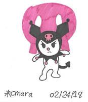 My Melody: Kuromi by cmara