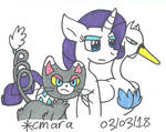 Don't mess with Rarity or her team