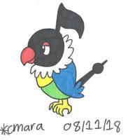 Pokemon: Chatot by cmara