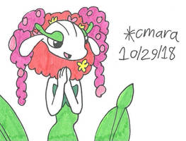 excited Florges