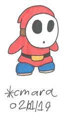Shy Guy by cmara