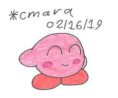 Kirby being cute