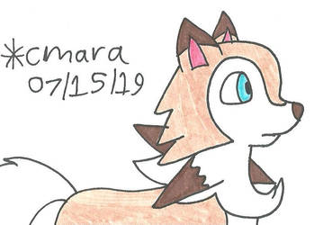 idle Lycanroc by cmara