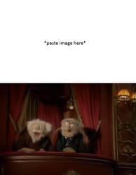 Statler and Waldorf troll blank by cmara