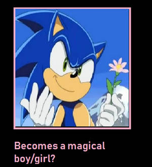 What if Sonic became a magical boy?